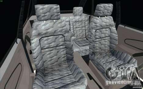 ВАЗ-2114 для GTA San Andreas вид сзади