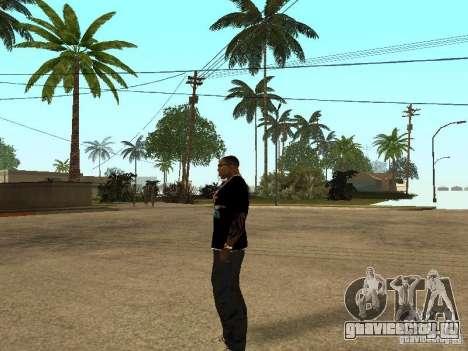Майка Nike для GTA San Andreas пятый скриншот