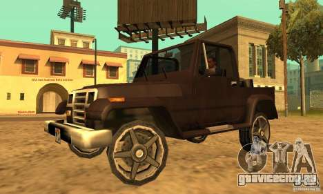 Mesa From Beta Version для GTA San Andreas
