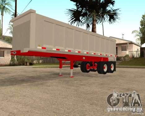 Полуприцеп Artict3 Dump для GTA San Andreas