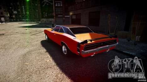 Dodge Charger RT 1969 tun v1.1 спортивный для GTA 4