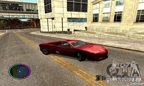 Axis Piranha Version II для GTA San Andreas вид справа