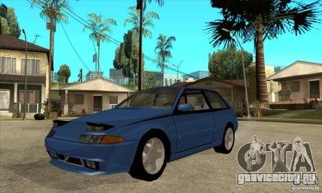 Volvo 480 Turbo для GTA San Andreas
