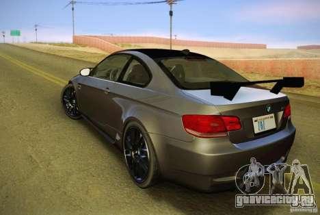 BMW M3 GT-S Final для GTA San Andreas вид слева