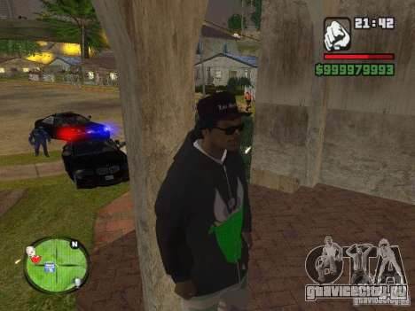 NEW Ryder для GTA San Andreas шестой скриншот