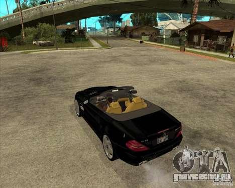 Mercedes Benz AMG SL65 V12 Biturbo для GTA San Andreas вид слева