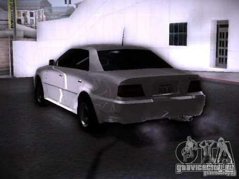 Toyota Chaser 100 для GTA San Andreas вид слева