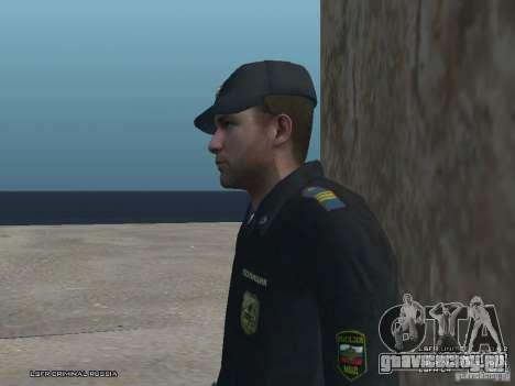 Сержант ППС для GTA San Andreas четвёртый скриншот