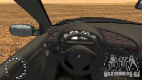 BMW M3 E36 для GTA 4 вид сзади слева
