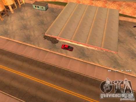 Previon GT для GTA San Andreas вид сзади