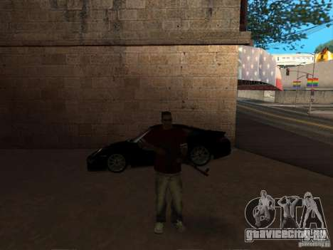 AK-47 HD для GTA San Andreas третий скриншот