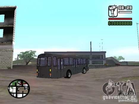FBW Hess 91U для GTA San Andreas вид справа