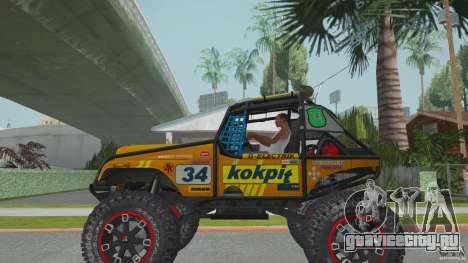 Jeep CJ-7 4X4 для GTA San Andreas вид слева