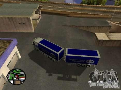Iveco Stralis для GTA San Andreas вид справа