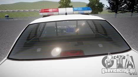 Ford Crown Victoria Karachi Traffic Police для GTA 4 салон