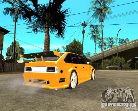 Москвич 2141 STR (HARD TUNING) для GTA San Andreas вид сзади слева
