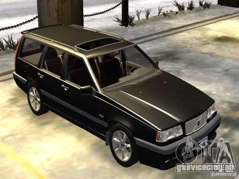 Volvo 850 R 1996 Rims 1 для GTA 4 вид слева