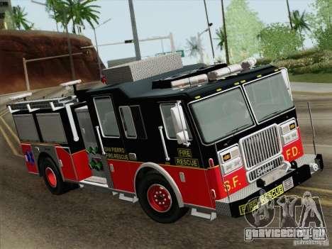 Seagrave Marauder Engine SFFD для GTA San Andreas