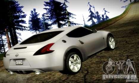 Nissan 370Z V2 для GTA San Andreas вид слева