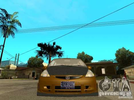Honda Jazz Sport для GTA San Andreas вид справа