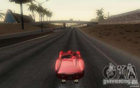 Ferrari 250 Testa Rossa для GTA San Andreas вид сзади слева