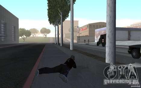 Новая анимация стрельбы из винтовок для GTA San Andreas