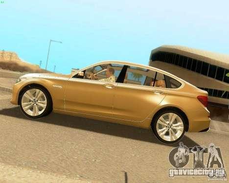 BMW 550i GranTurismo 2009 V1.0 для GTA San Andreas вид слева