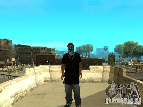 Varrios Los Aztecas Gang Skins для GTA San Andreas