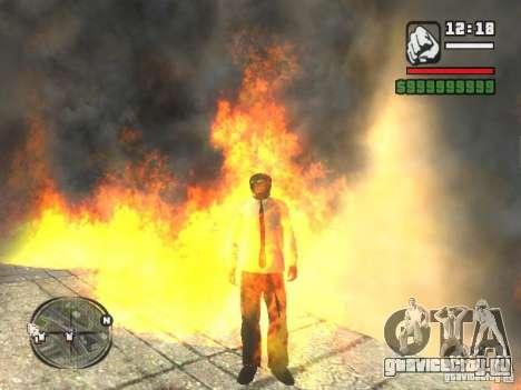Black Helmet для GTA San Andreas четвёртый скриншот