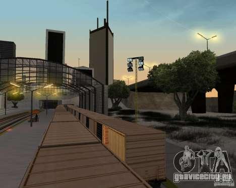 Новый вокзал для GTA San Andreas десятый скриншот