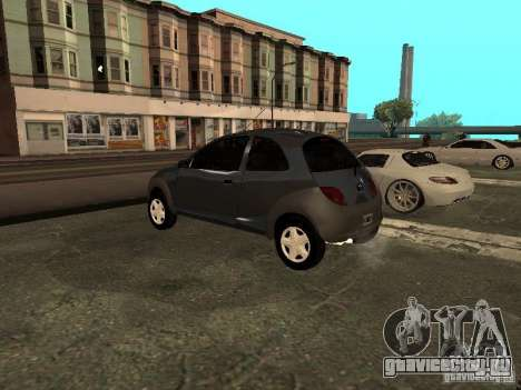Ford Ka 1998 для GTA San Andreas вид слева