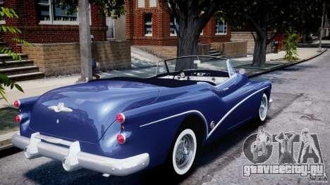 Buick Skylark Convertible 1953 v1.0 для GTA 4 вид снизу