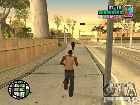 Vice City Hud для GTA San Andreas