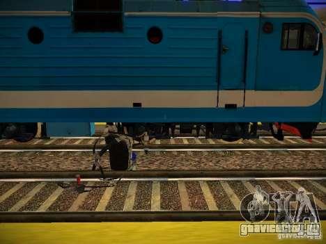 Новые рельсы для GTA San Andreas пятый скриншот
