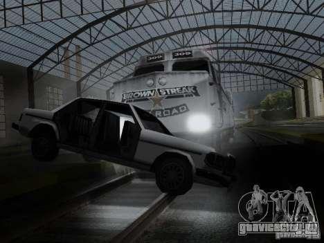 Crazy Trains MOD для GTA San Andreas восьмой скриншот