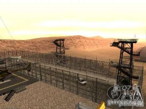 Prison Mod для GTA San Andreas двенадцатый скриншот