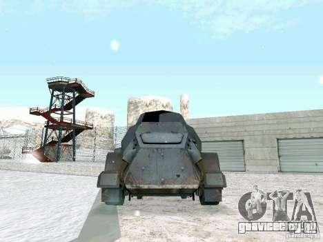 Бронетранспортёр из игры В Тылу врага 2 для GTA San Andreas вид сзади слева