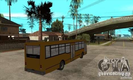 Волжанин 52702 для GTA San Andreas вид справа