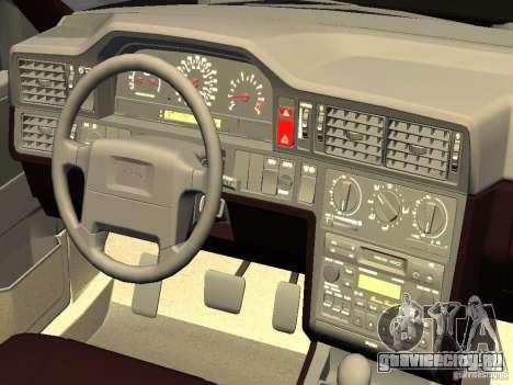 Volvo 850 R 1996 Rims 1 для GTA 4 вид сзади