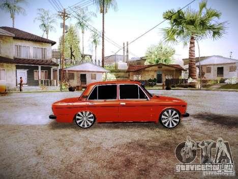 Ваз 2106 Fanta для GTA San Andreas вид слева