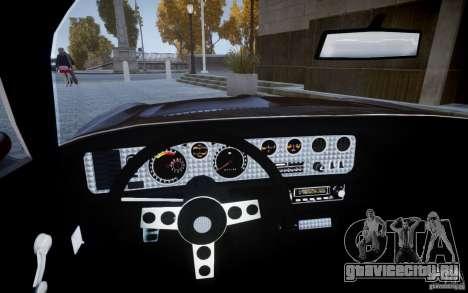 Pontiac Firebird 1971 для GTA 4 вид справа