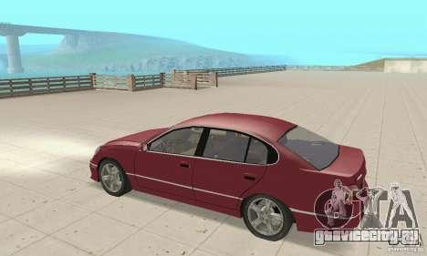 Lexus GS430 1999 для GTA San Andreas вид справа