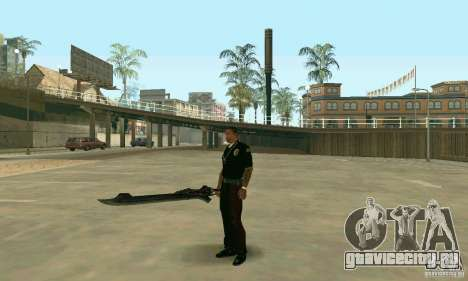Меч Неро из Devil May Cry 4 для GTA San Andreas третий скриншот