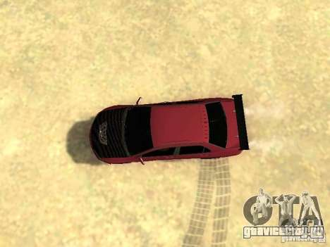 Mitsubishi Lancer IX MR для GTA San Andreas вид сзади слева