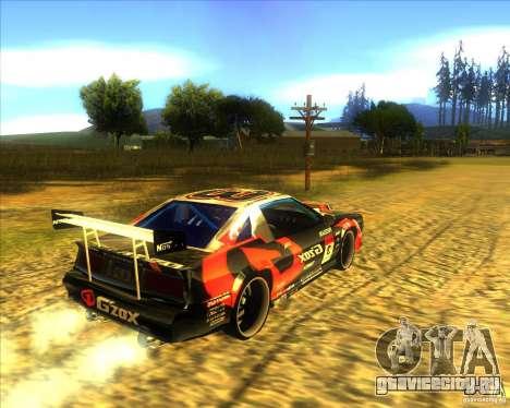 Buffalo D1 для GTA San Andreas вид сзади слева