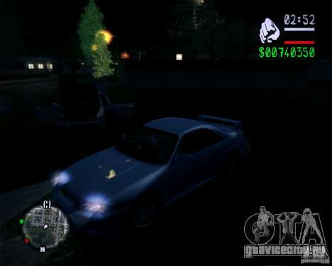 Новая графика в игре 2011 для GTA San Andreas третий скриншот