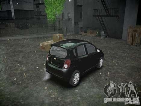 Chevrolet Aveo LT 2009 для GTA 4 вид изнутри