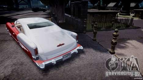 Buick Custom Copperhead 1950 для GTA 4 вид сзади слева