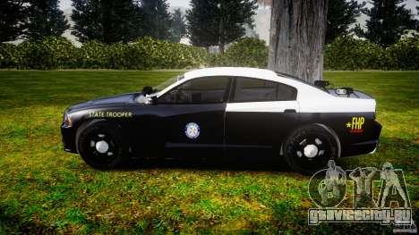 Dodge Charger 2012 Florida Highway Patrol [ELS] для GTA 4 вид слева