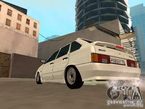 ВАЗ 2114 Сток для GTA San Andreas вид справа